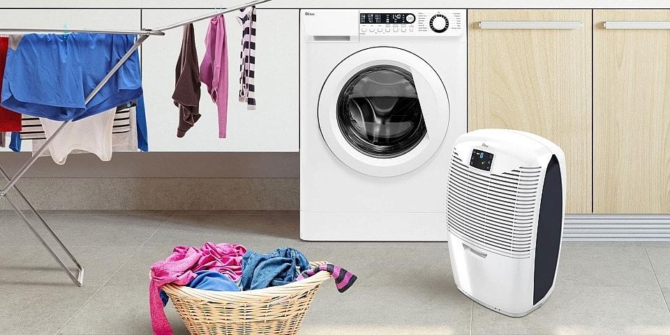 علت خشک نشدن لباس در ماشین لباسشویی