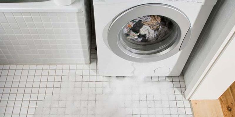 نشت آب از لباسشویی سامسونگ