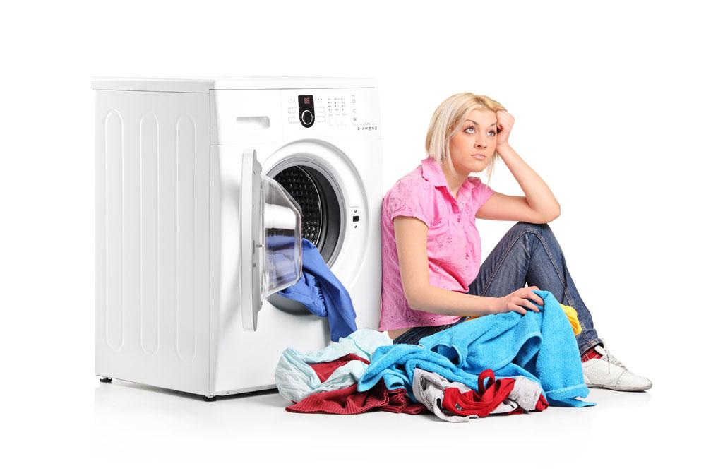 جرم گیری و رسوب زدایی ماشین لباسشویی