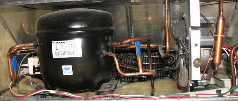 راهکار جلوگیری از داغ شدن زیاد کمپرسور یخچال