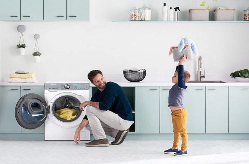 بررسی کد خطا (ارور)  ماشین لباسشویی سامسونگ